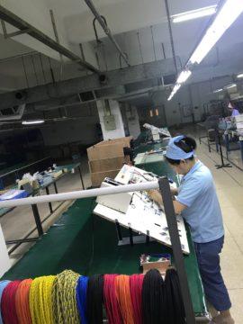 中国工場 ハーネス コイル 実装 視察に行きました。の画像